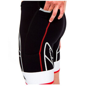 KiWAMi Spider Shorts black/red/white
